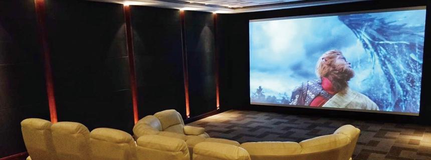 案例鉴赏:瑰宝级7.2.4杜比全景声顶级私人家庭影院