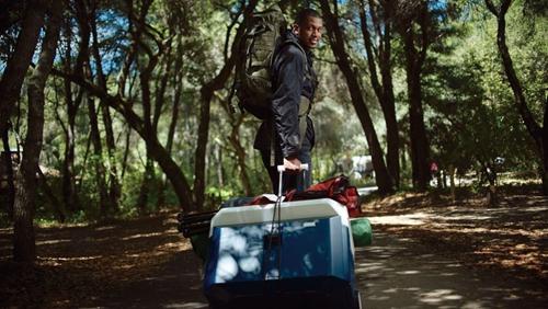 可以当行李箱使用