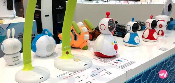 深圳机场店内各种儿童智能产品