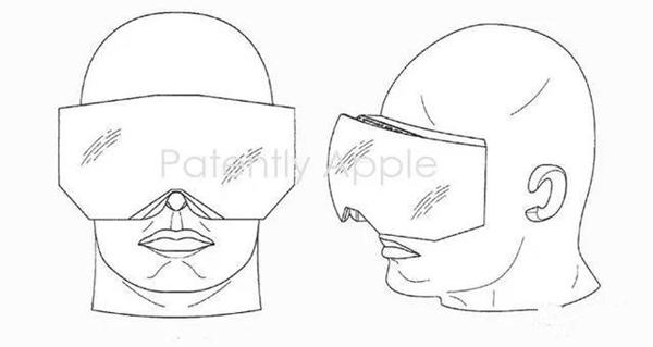 苹果AR眼镜专利图