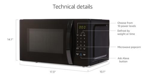 微波炉尺寸