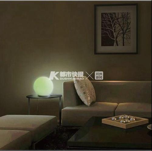 怀居的这展灯被软银看中,卖到了日本市场