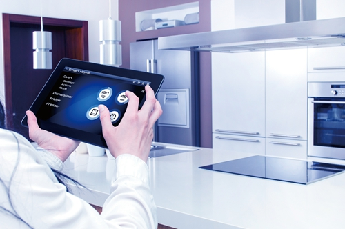 Conception of smart kitchen controlled by tablet application.