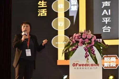 华为企业BG中国区智慧城市副总裁章玲