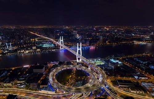 南浦大桥夜景