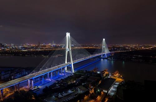徐浦大桥夜景