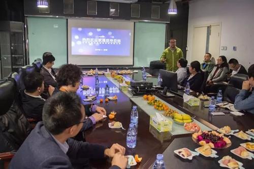 新和创CEO梁禹与联通领导深入探讨智慧家庭融合应用