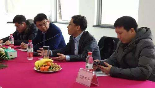 天诚百微总经理范文斌现场发言