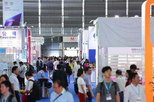 2018国际新型显示技术展展会现场