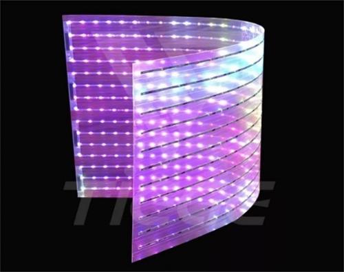 LED 贴膜屏
